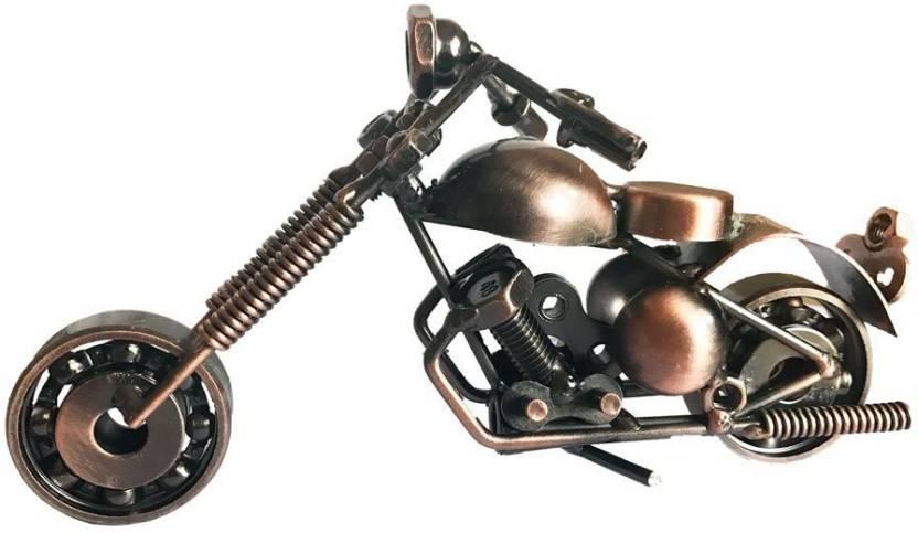 Craft Art India Metal Bike Showpice For Home Decor Unique Home