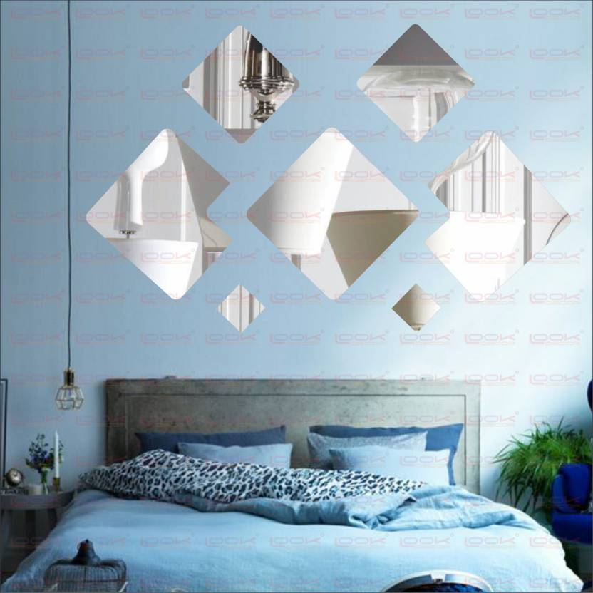 Look Decor Extra Large Decorative Wall Pack Of 7acrylic Sticker