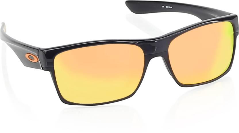 59d5b56ac844e Buy Oakley TWOFACE Wayfarer Sunglass Red For Men Online   Best ...