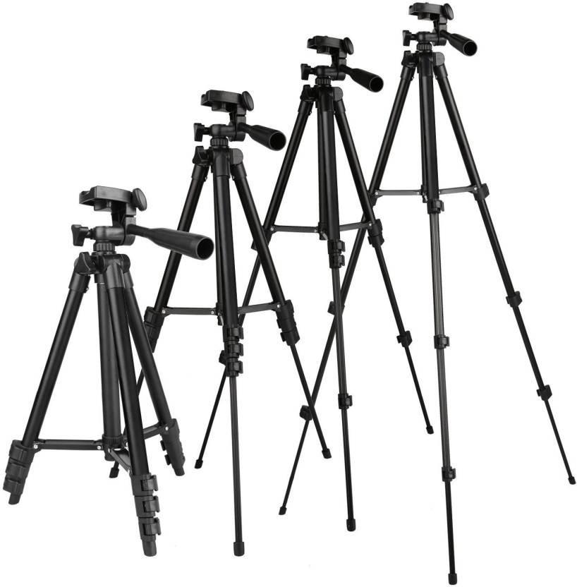 Fku Adjustable Mobile And Camera Stand Holder Tripod