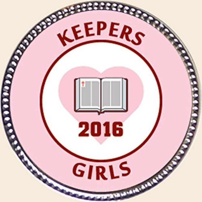 Keepsake Awards 2016 Keepers Girls Award, 1 Inch Dia Silver