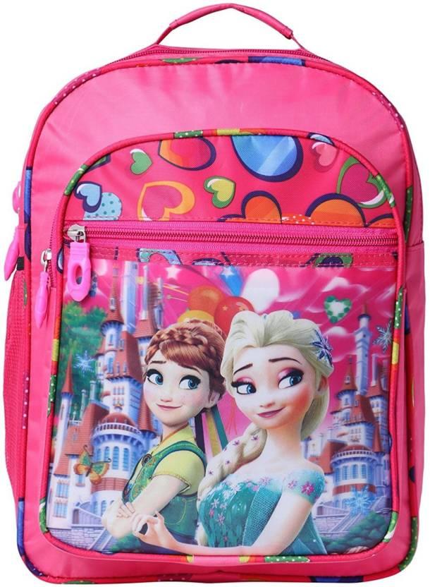 okji enterprises School bag for girls new Admission school going kids  School Bag (Multicolor 11dd91c999269
