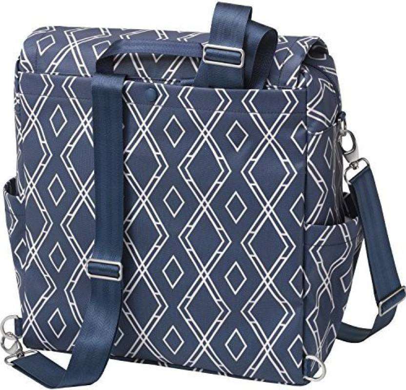 ac20a7ee2344 Petunia Pickle Bottom Glazed Boxy Backpack Indigo Diaper Bag - Buy ...