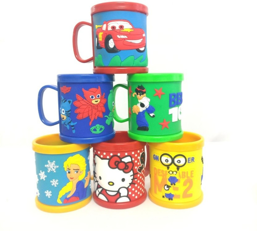 Children/'s Milk Cup Water Cup Baby Creative Drinking Cup Child Cute Cartoon Cup