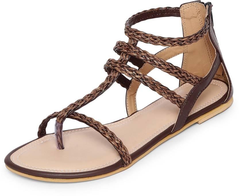 ea997d02485 Marc Loire Women Brown Flats - Buy Marc Loire Women Brown Flats Online at  Best Price - Shop Online for Footwears in India