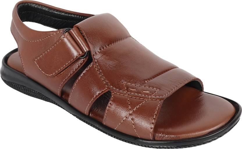 819bbdc9e8f2 Vincenzo Men Tan Sandals - Buy Vincenzo Men Tan Sandals Online at Best  Price - Shop Online for Footwears in India