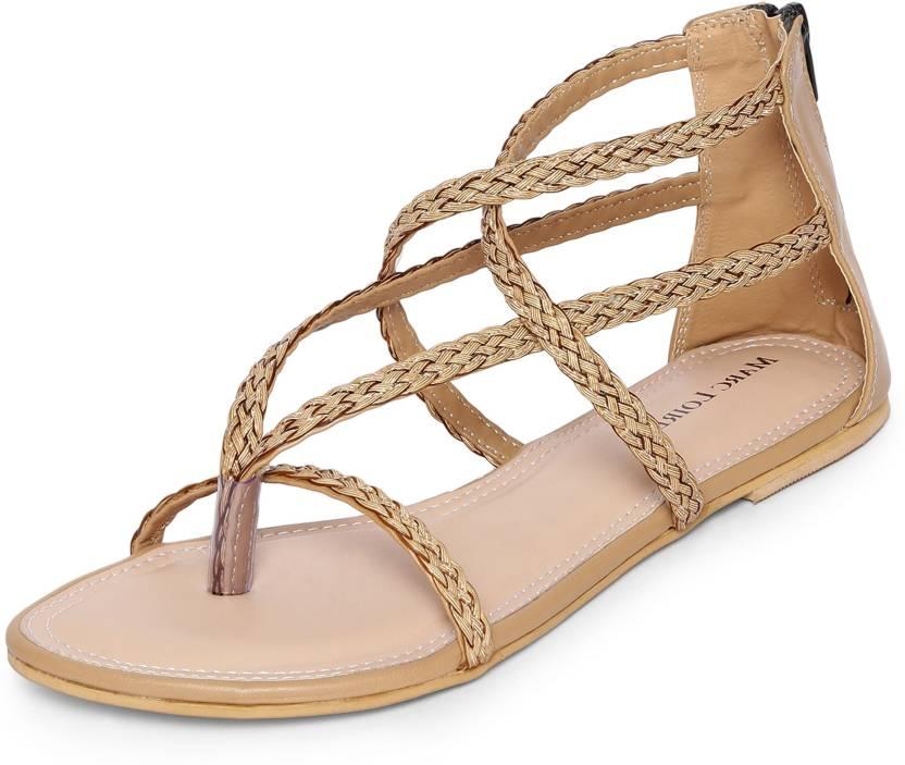 f810ef5b73b Marc Loire Women Beige Flats - Buy Marc Loire Women Beige Flats Online at  Best Price - Shop Online for Footwears in India