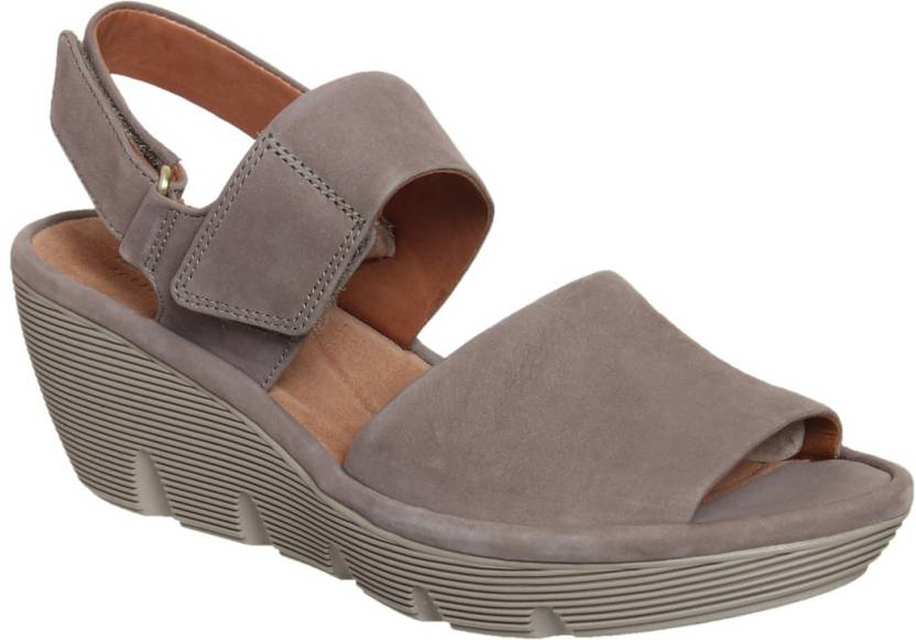 a574265795e Clarks Women Sage Wedges - Buy Clarks Women Sage Wedges Online at Best  Price - Shop Online for Footwears in India