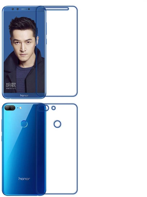 brand new 15159 b8ac2 Sajni Creations Front and Back Tempered Glass for Honor 9 Lite