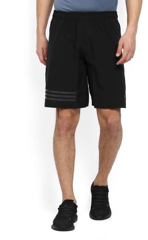 adidas solidi uomini neri sport pantaloncini comprare black adidas solido