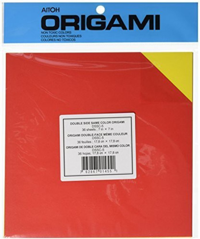 """Origami Paper 9.75/""""X9.75/"""" 18 Sheets-Assorted Foil"""