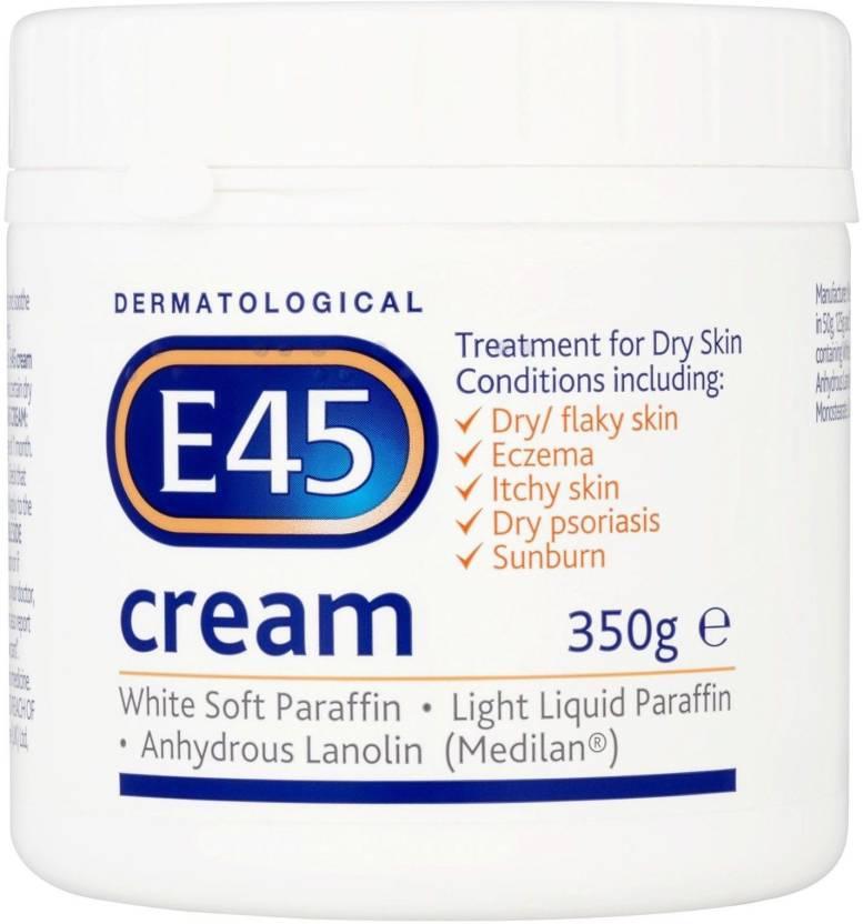 E-45 Moisturising Cream 350g-Best Clinically proven to treat