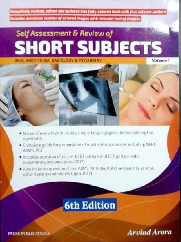 Short Subjects Volume 1 (Skin, Anesthesia, Radiology