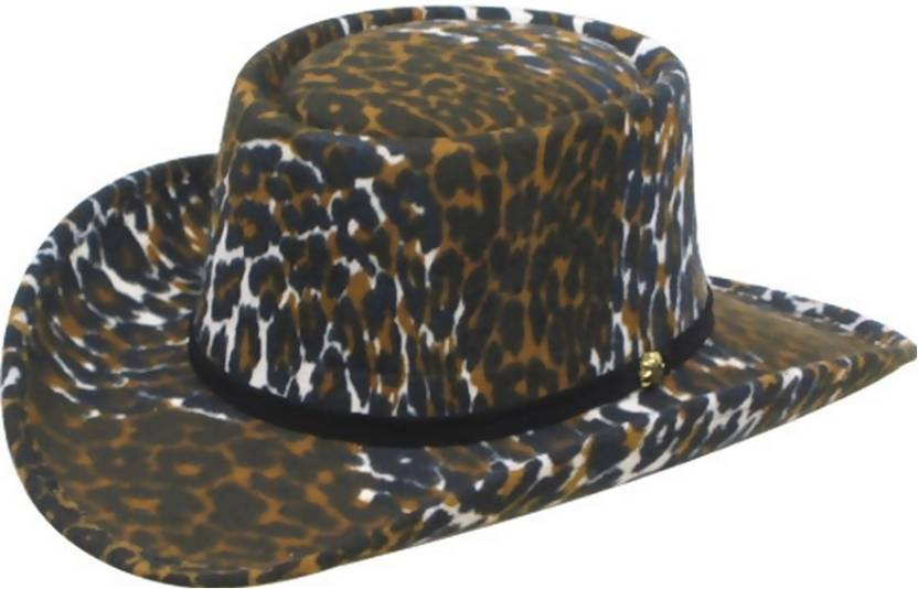 Leopard Print Cowboy Cap Price in India - Buy Leopard Print Cowboy ... 10919d05677