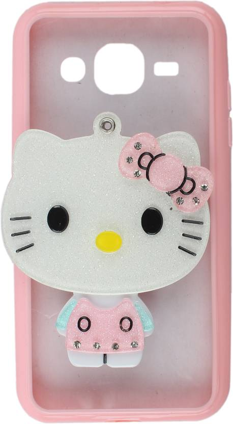 outlet store 9dc95 295d5 Dekkin Back Cover for Samsung Galaxy J2 Mirror Hello Kitty Back ...