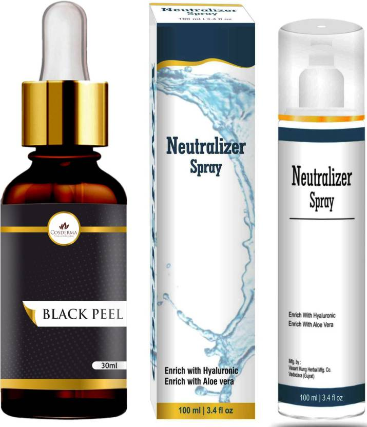 Cosderma Black Peel Salicylic Acid 20% Acne Clear Control