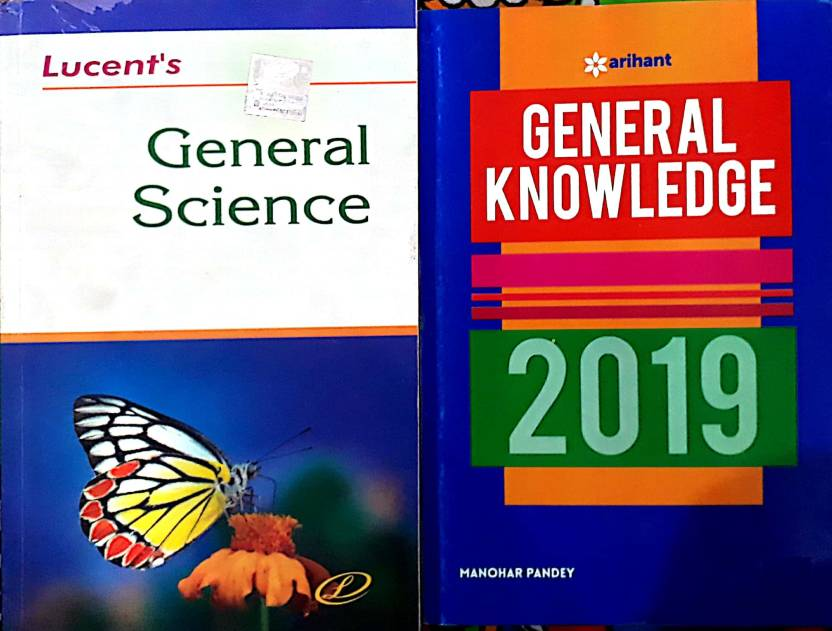 Lucent's General Science And Arihant General Knowledge 2019