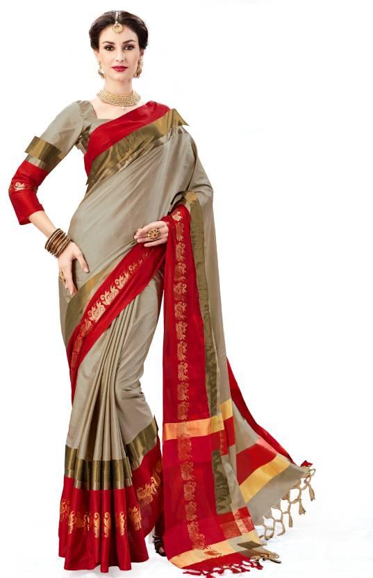 3d55b0d3fb Buy Taanshi Self Design Fashion Silk Multicolor Sarees Online @ Best ...