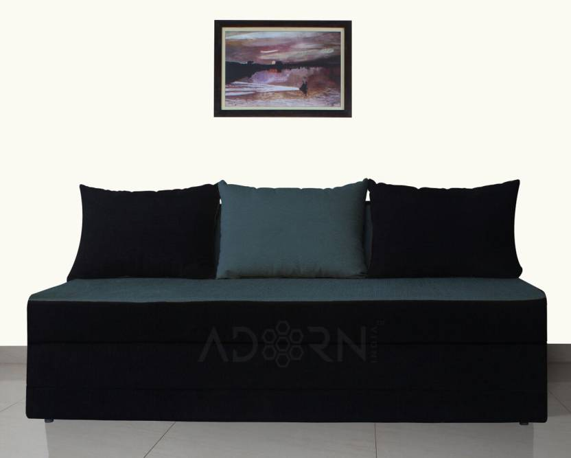Adorn India New Easy Double Solid Wood Sofa Bed Price In