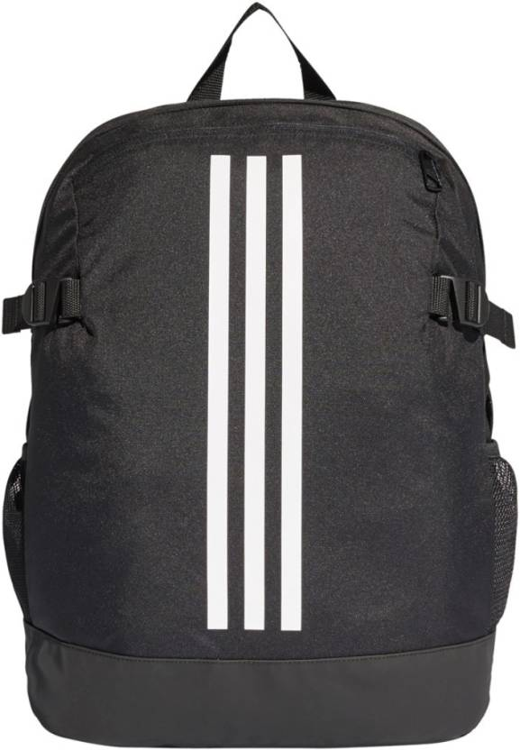 e66cecde6f ADIDAS BP POWER IV M 23 L Backpack BLACK, WHITE - Price in India ...