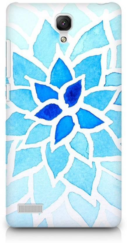ATOM Lotus Blue Premium Printed Skin For Xiaomi Redmi Note