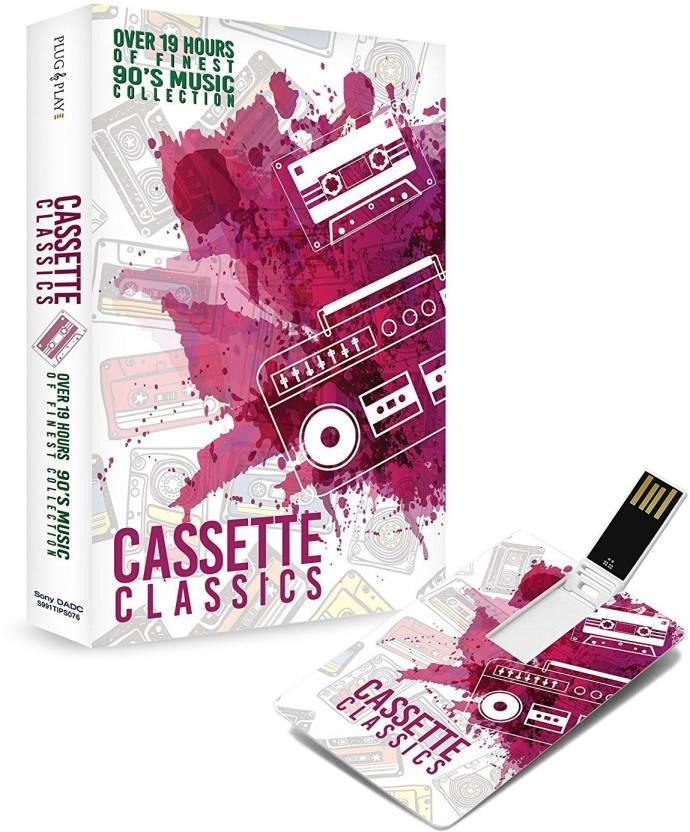 Music Card Cassette Classics Hindi Usb 320 Kbps Mp3 Audio
