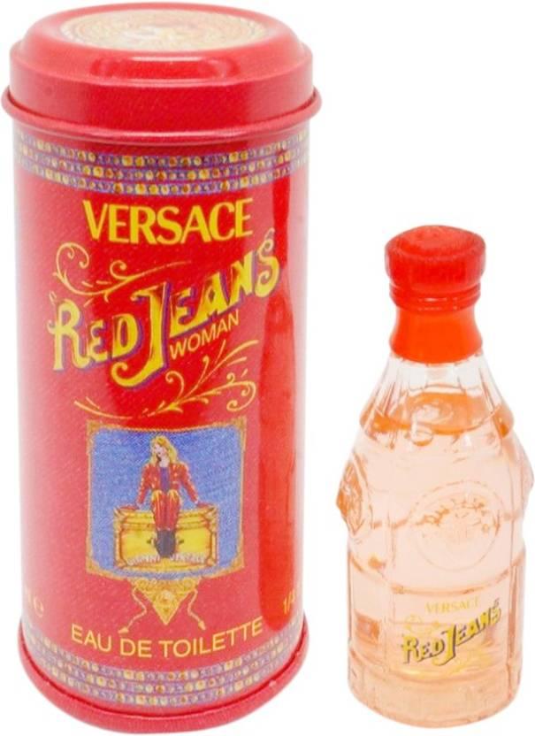 India Jeans Versace Red 8 Online Eau De In Buy Parfum Ml OiXZPukT