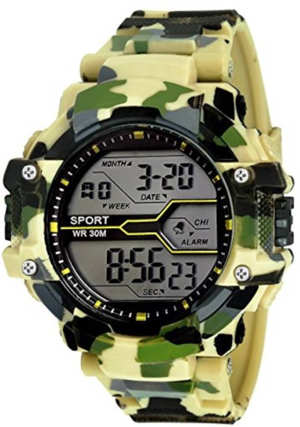 watches itm digital men sports wrist outdoor led alarm quartz cheap waterproof watch
