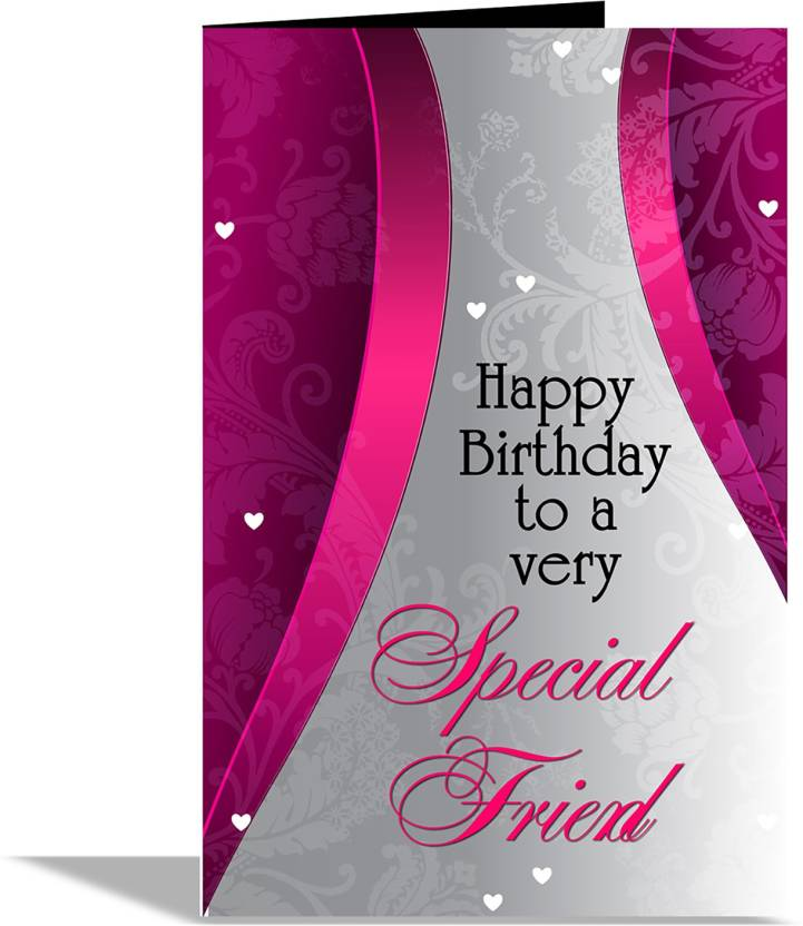 alwaysgift Happy Birthday To A Very special Friend Greeting Card