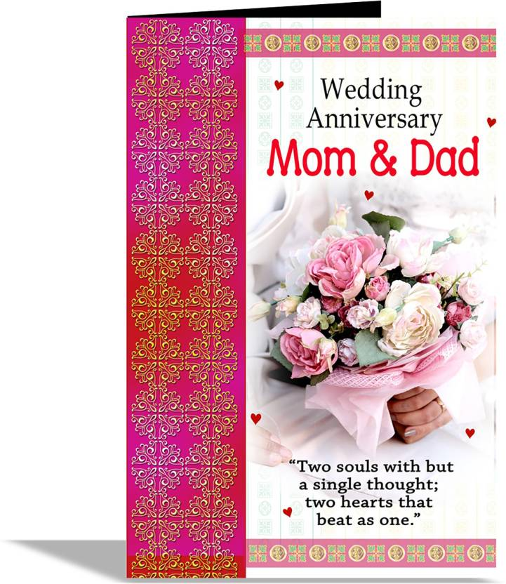 Alwaysgift Wedding Anniversary Mom Dad Greeting Card Greeting Card