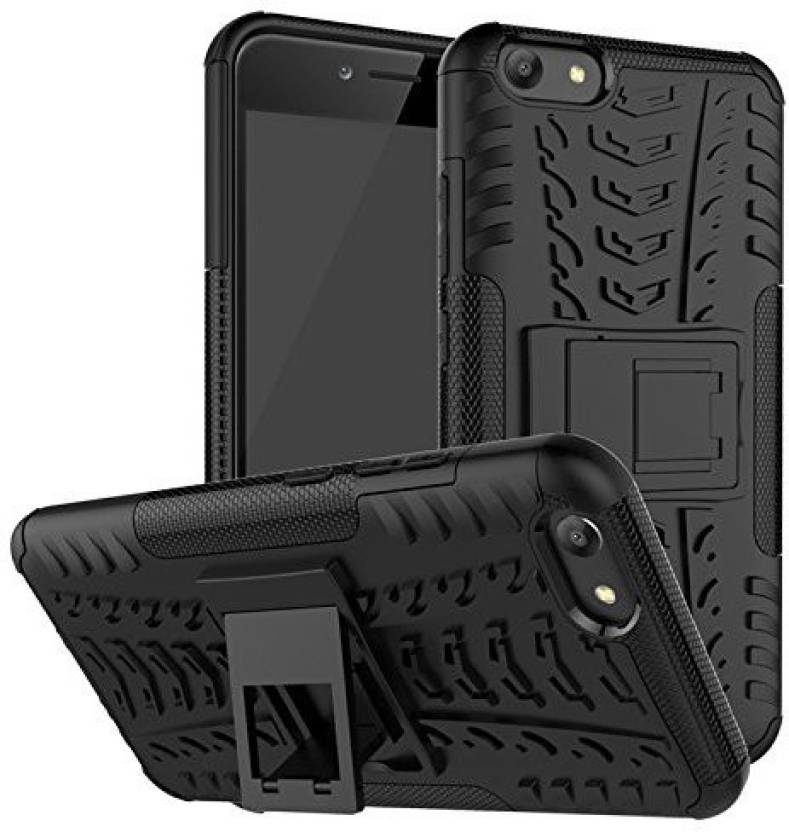 detailed look ab0e5 e9713 RMR88 Back Cover for Hard Hybrid Rugged Bumper Kick Stand Armor Back Cover  Design Detachable And Stand-Up Feature Hard Back Case For VIVO Y69 back ...