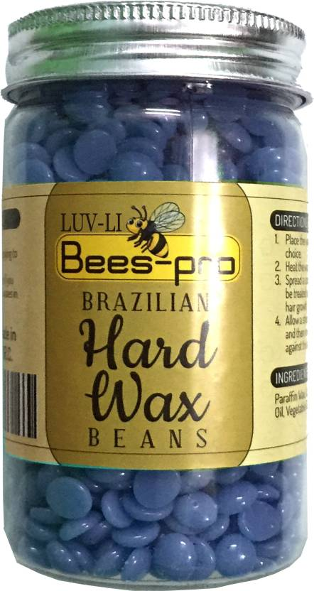 LUV-LI BRAZILIAN HARD WAX BEANS FOR PAINLESS HAIR REMOVING HAIR OF YOUR  WHOLE BODY NO STRIP BIKINI WAXING PELLET Wax