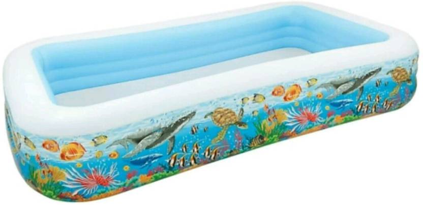 YAMAMA Inflatable Family Swimming Pool 10*6Ft Inflatable ...
