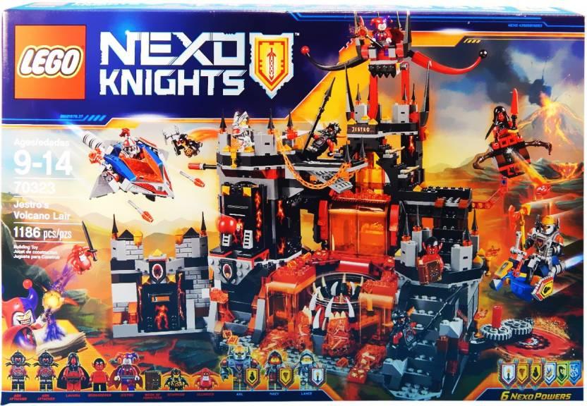 Jestro's Lego Volcano Lair KnightsBuy Nexo Toys In lJ1TcFK3