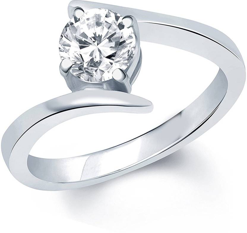 Platinum Ring For Girl