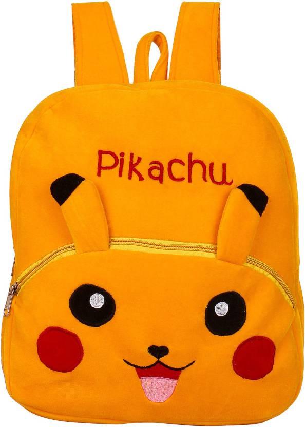 Pandora Pikachu Bag For Nursery Kids Age 2 To 5 Waterproof School