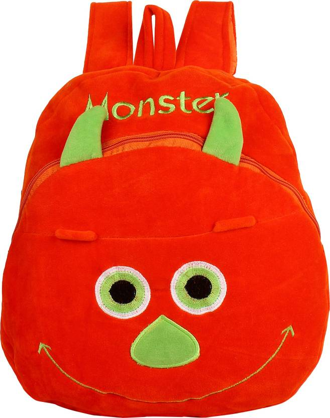 Star Fashion Monster Face Kids School Bag Under 5 Years Girls Boys Picnic Birthday Gift