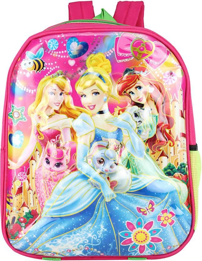 3377594d00d WhiteAsh Disney Frozen Princess Printed 3D Effect Lightweight Kids School  Bag