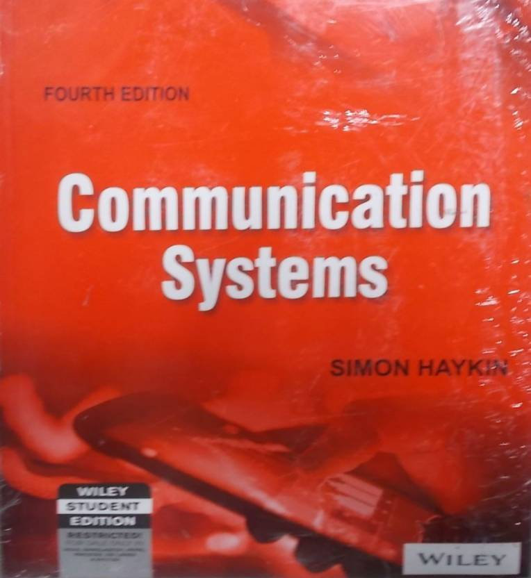Communications systems 4th edition buy communications systems 4th communication systems 3rd edition fandeluxe Gallery
