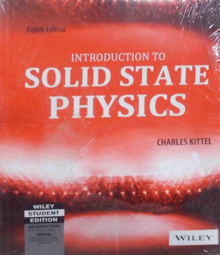 Introduction to solid state physics 8 edition buy introduction to introduction to solid state physics 8 edition fandeluxe Images