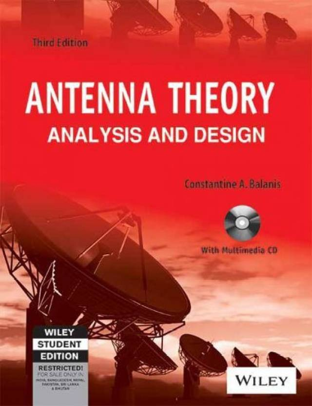 Antenna Theory Ysis And Design With Cd 3 Edition