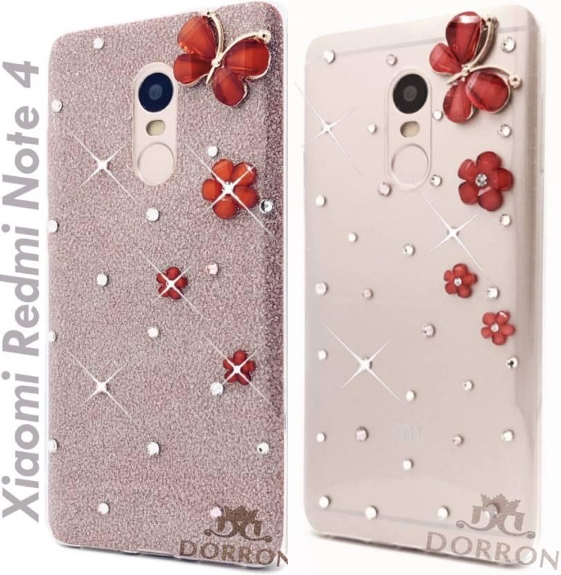 sports shoes 01820 78ea8 DORRON Back Cover for Mi Redmi Note 4