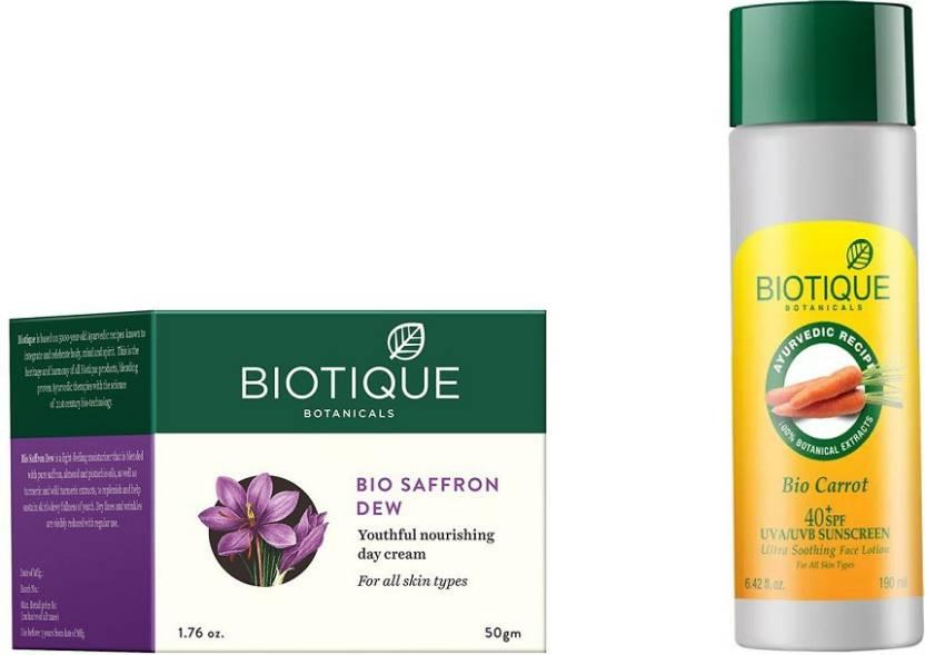 biotique bio bio saffron dew youthful nourishing day cream bio