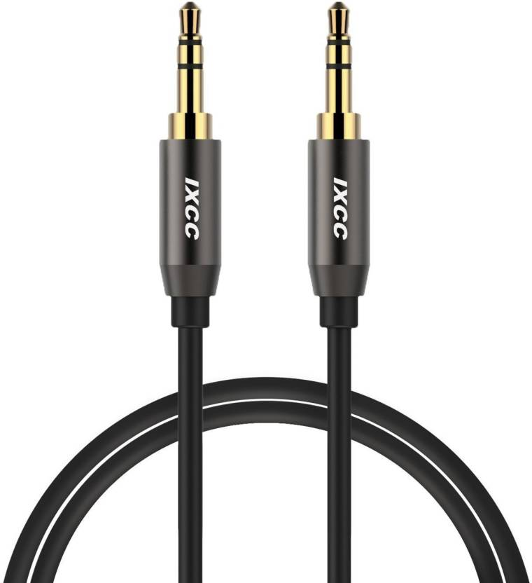 VibeX ® 3 5mm Male to Male Aux Cord, iXCC 3Feet Auxiliary Audio Cable for  Car, Apple, Samsung, Android, Windows and MP3 Player, All 3 5mm-Enabled