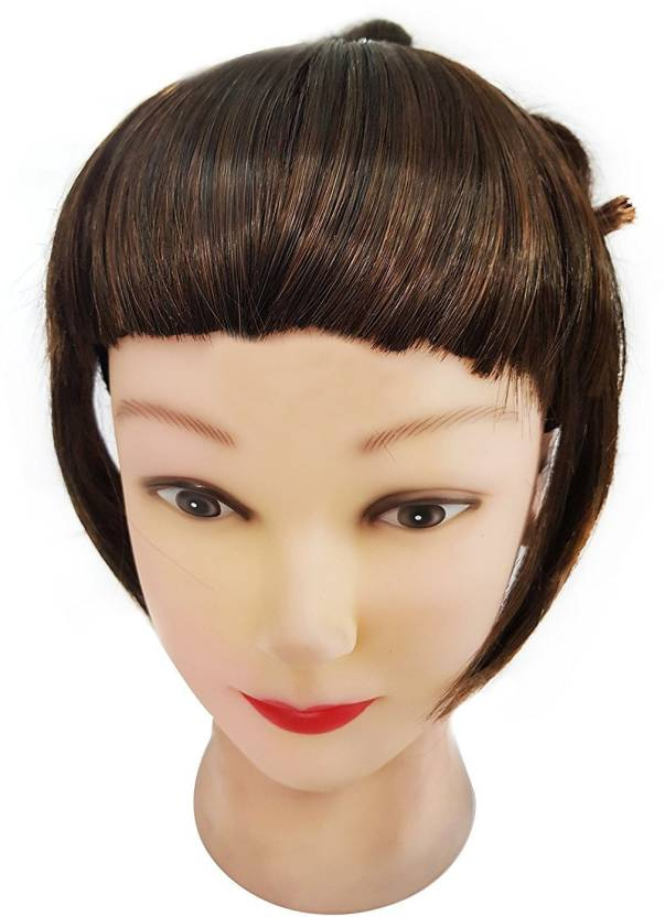 Confidence Synthetic Pieces Front Fringe Extensions Bangs Fringe