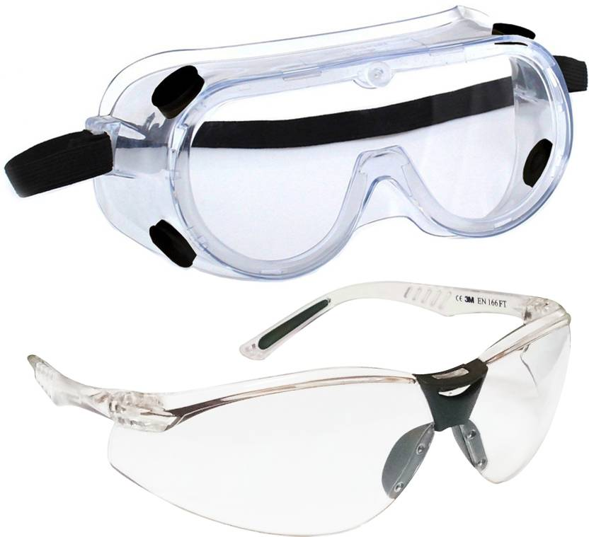 c54a9449f Arex 3M 1621 CHEMICAL SPLASH SAFETY GOGGLES   3M VIRTUA V3-IN EYE  PROTECTION GLASSES Power Tool