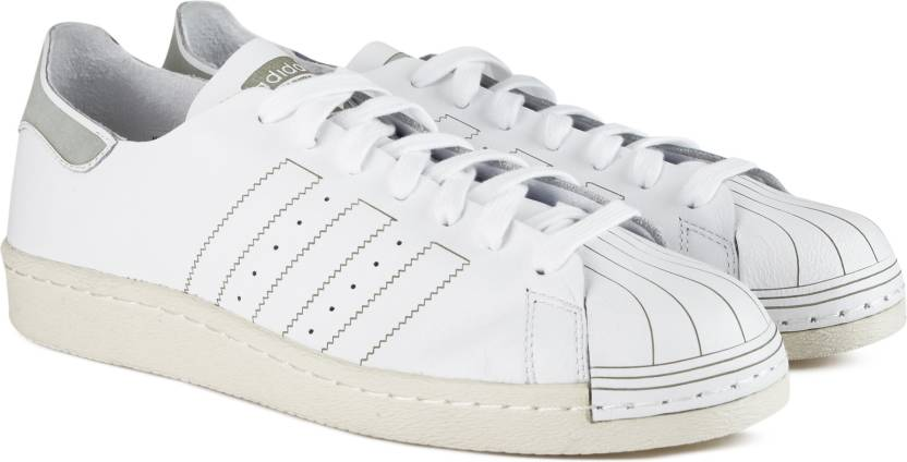 super popular 6b9bb c3447 ADIDAS ORIGINALS SUPERSTAR 80S DECON Sneakers For Men (White)