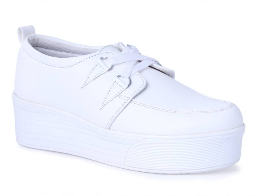 sale online half price on feet at Shoe Fellow Girls Casual Shoes White color Original. Casuals For ...