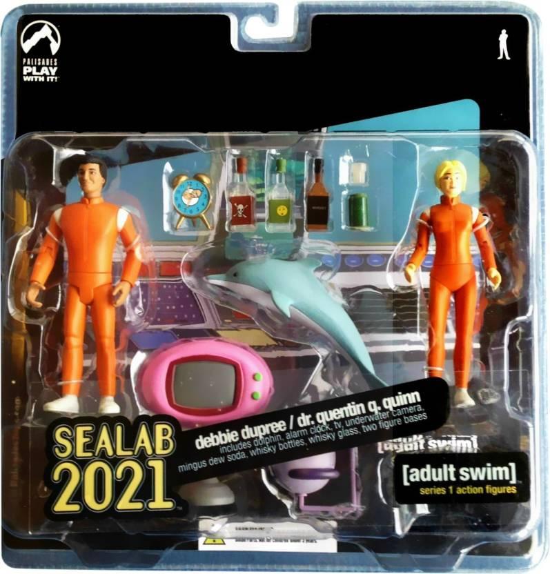 Palisades Toys Seallab 2021 - Seallab 2021   Buy Adult Swim