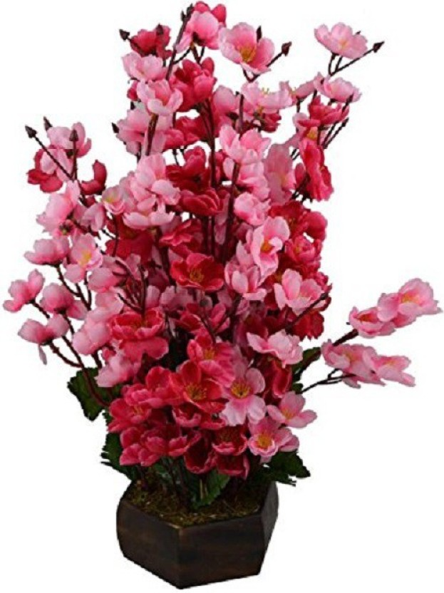 kaykon Beautiful Artificial Flower Pot For Home Decor Office Decor Hotel Decor Flowers -12 Sticks Red Pink Orchids Artificial Flower with Pot (16 inch ...  sc 1 th 260 & kaykon Beautiful Artificial Flower Pot For Home Decor Office Decor ...